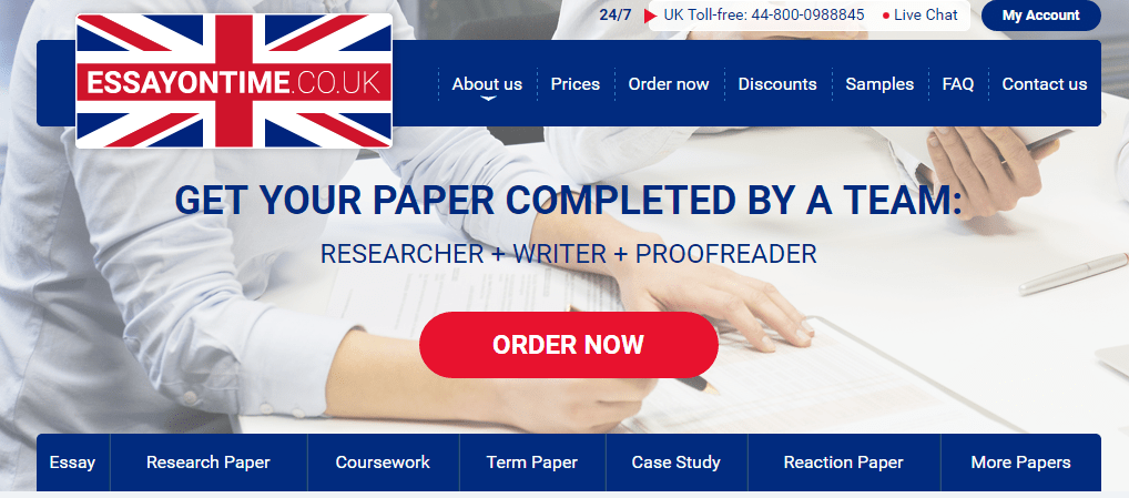 Essay writing website reviews british